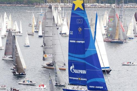 Esimit Europa 2 Wins Barcolana, the Largest Single Start Regatta in the World