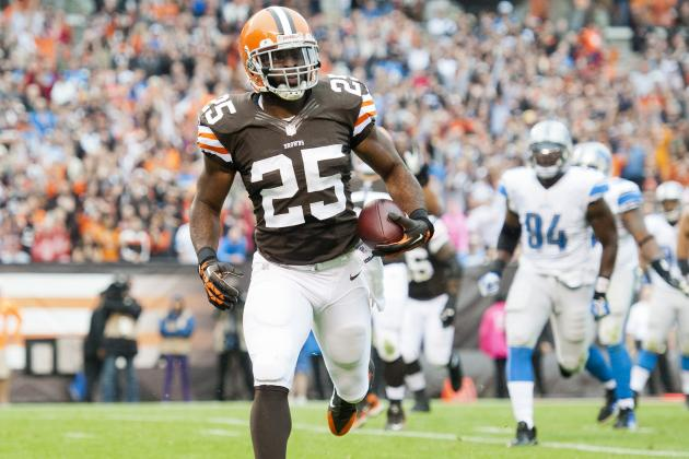 Cleveland Browns Running Game Improves, but Still Has Work to Do