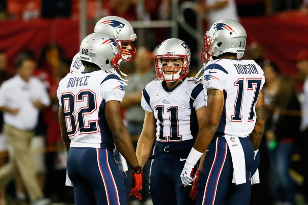 Aaron Dobson vs. Julian Edelman: Fantasy Outlook After Danny Amendola's Injury