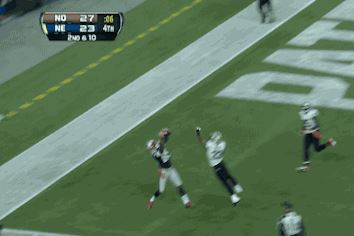 Tom Brady Throws Perfect Pass to Kenbrell Thompkins for GW TD in Final Minute