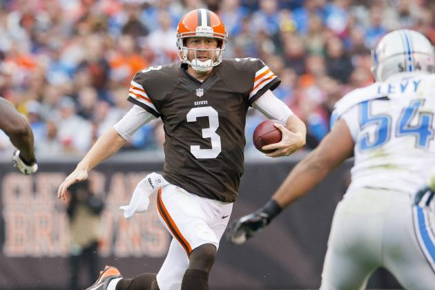 Brandon Weeden Implodes as Browns Bow to Lions