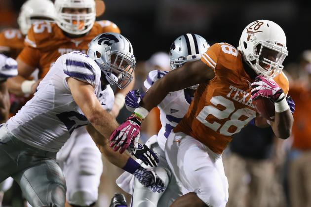 Texas Football: Malcolm Brown Holds the Keys to Big 12 Title for the Horns