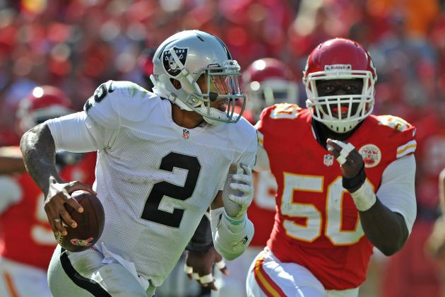 Terrelle Pryor Puts Inexperience on Full Display in Loss to Chiefs