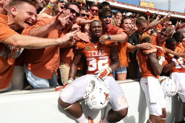 Texas Football: Oklahoma Game Was Great, but Can the 'Horns Hang with Baylor?