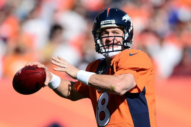 Examining Peyton Manning's Record-Setting Pace Through Week 6