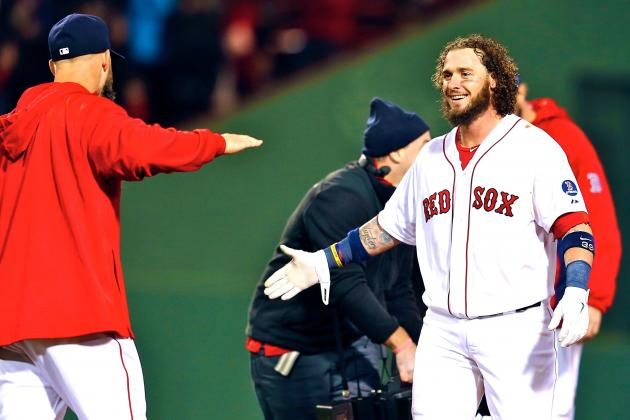 Watch Jarrod Saltalamacchia Rip Game-Winning Hit to Bring Red Sox Back in ALCS