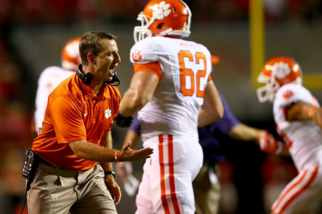 How Clemson's Early Season Battles Will Help Tigers vs. Florida State