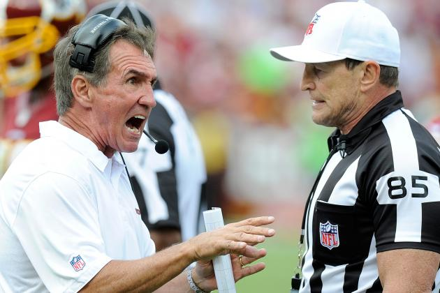 Mike Shanahan Not Happy with Officials on Touched Punt Ruling