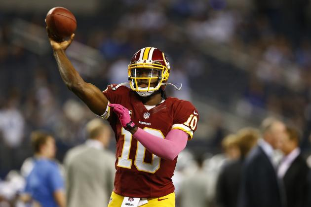 Robert Griffin III's Updated 2013 Fantasy Outlook Heading into Week 7