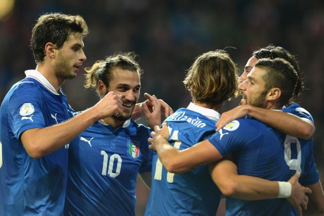 Italy vs. Armenia: Date, Time, TV Info and Preview