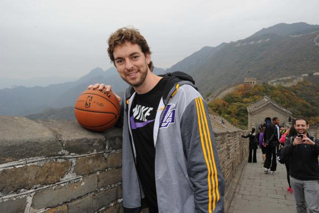 LA Lakers 2013-14 Preseason Tracker: Latest News, Tweets, Media from China Trip