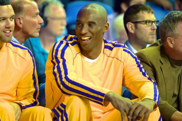 Kobe Bryant Says He Could Probably Play Today If It Were the Playoffs