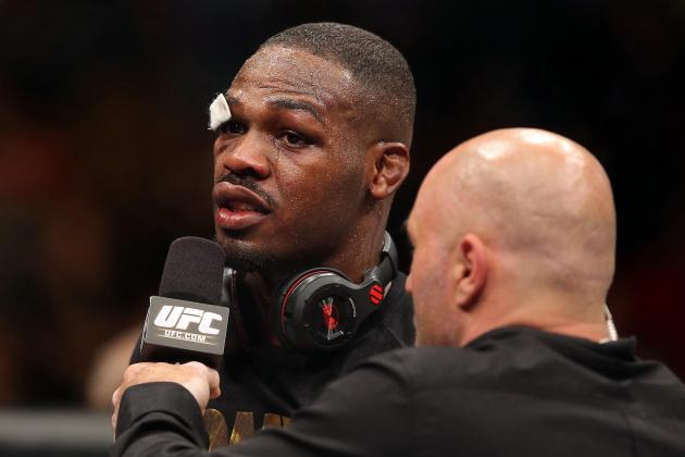 UFC's Jon Jones: Fighting on Super Bowl Weekend 'A Little Too Close'