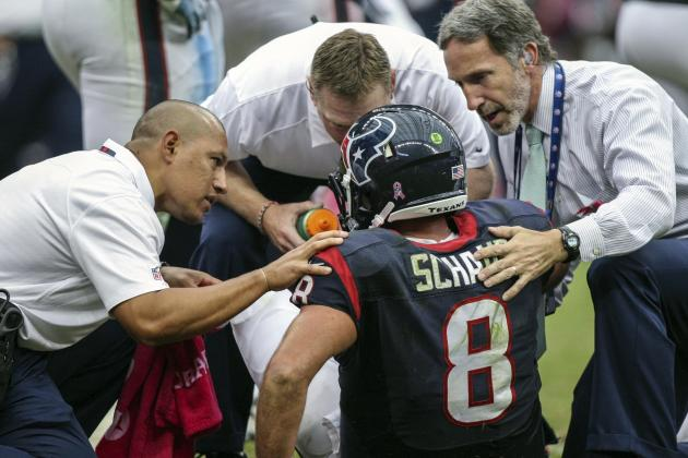Rams, Texans Upset by Fans' Treatment of Schaub