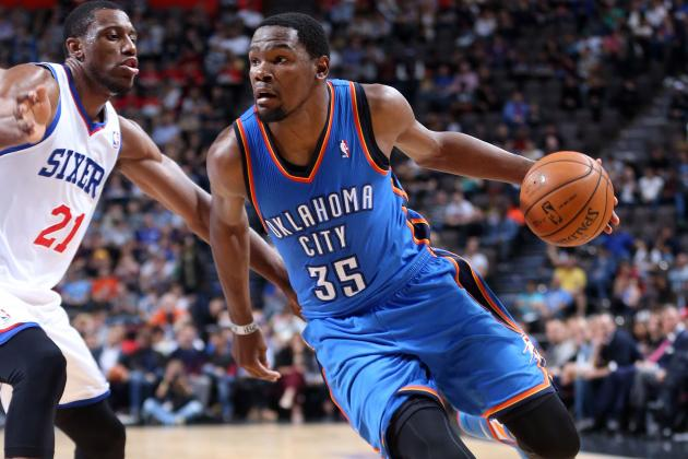 Kevin Durant Discusses Increased Distributor Role in Russell Westbrook's Absence