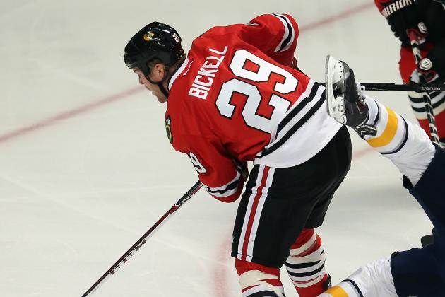 Blackhawks' Bryan Bickell Needs a Thump-Start