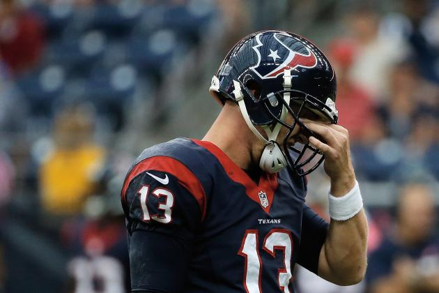 Houston Texans' T.J. Yates Is Not a Viable Pickup at QB for Fantasy Owners