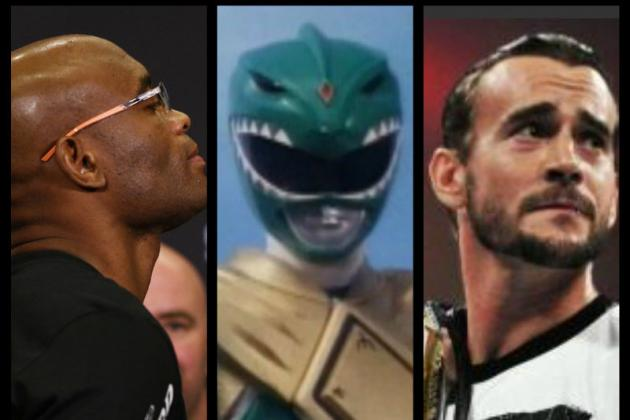 The Green Ranger, Jason David Frank, Calls Out Anderson Silva and CM Punk