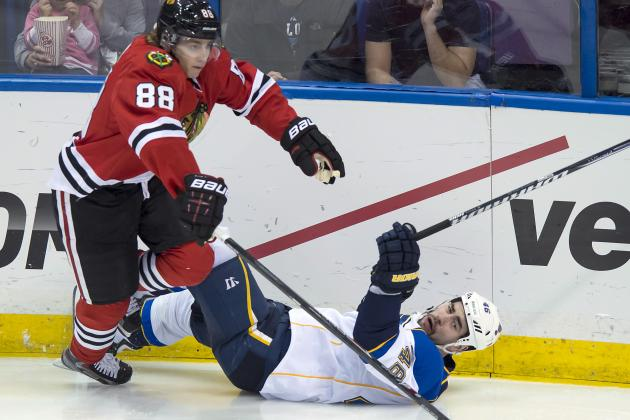 Breaking Down Chicago Blackhawks' Budding Rivalry with St. Louis Blues