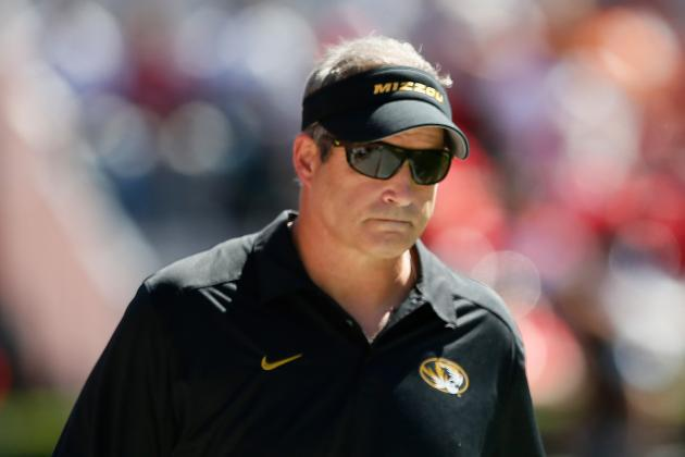 Mizzou Coach Gary Pinkel Zings Georgia When Asked About Bulldogs' Injuries