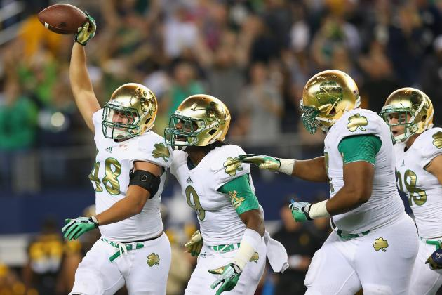 Notre Dame Is Not out of Running for BCS Berth, but It's a Long Shot