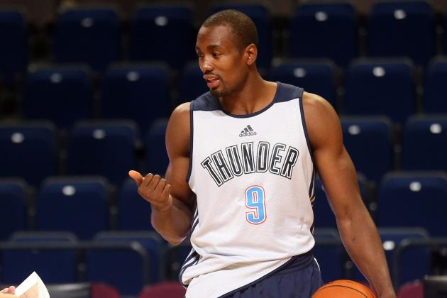 Oklahoma City Thunder: Serge Ibaka Ranked No. 39 Player in NBA by ESPN