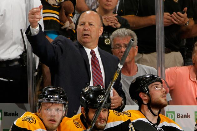 Julien Upset as B's Lose to Red Wings in Matinee