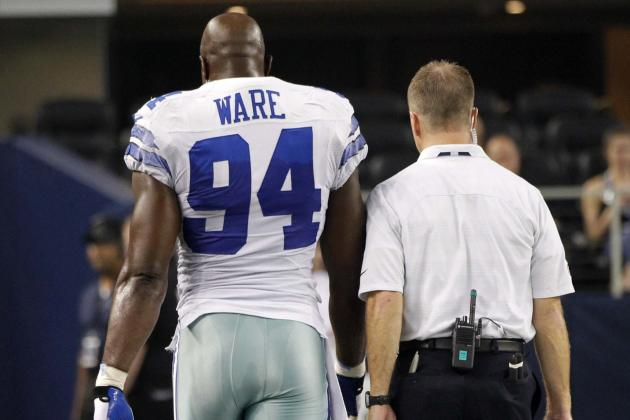 Could DeMarcus Ware's Injury Be a Death Blow to the Dallas Cowboys Defense?