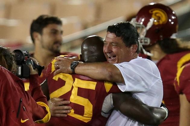Is Ed Orgeron the Right Cornerstone for USC Football?