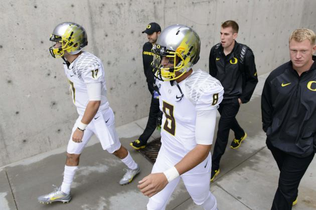 Mariota Passes Big Test in Leading the Ducks to a Huge Road Win at Washington