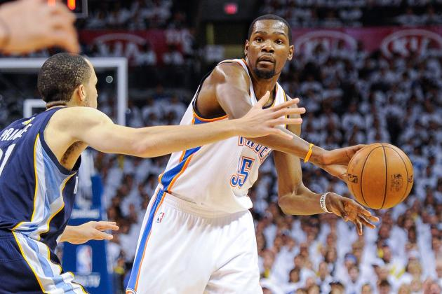 Could Kevin Durant Lead OKC Thunder in Points and Assists This Season?
