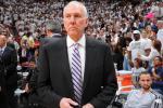 Spurs' Popovich Rips into Gov't Shutdown