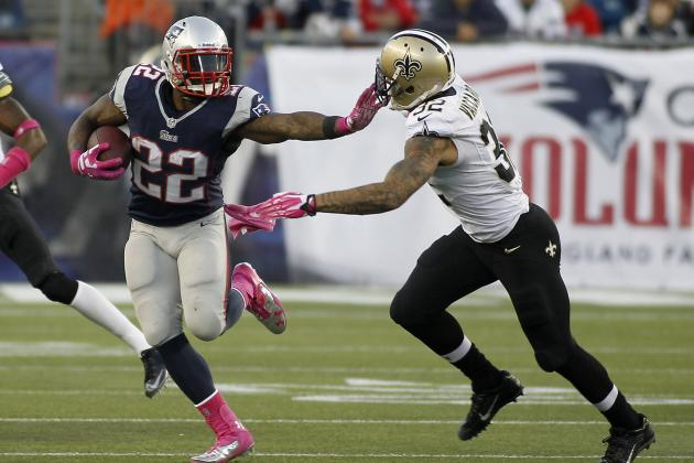 Assessing Stevan Ridley's Fantasy Outlook and Trade Value After Week 6