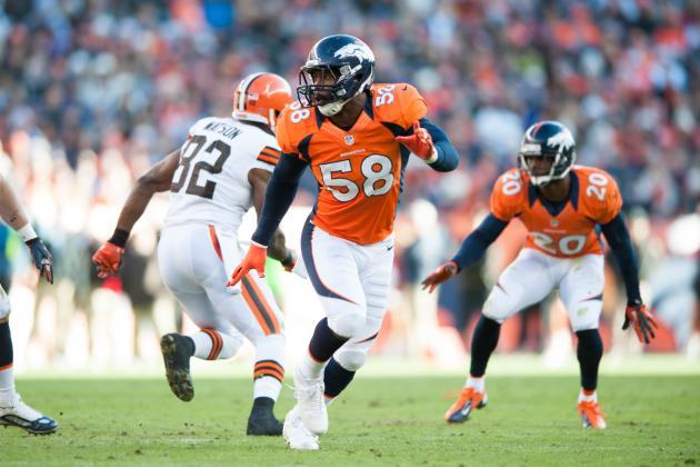 Von Miller Returns to Denver Broncos After 6-Game Suspension