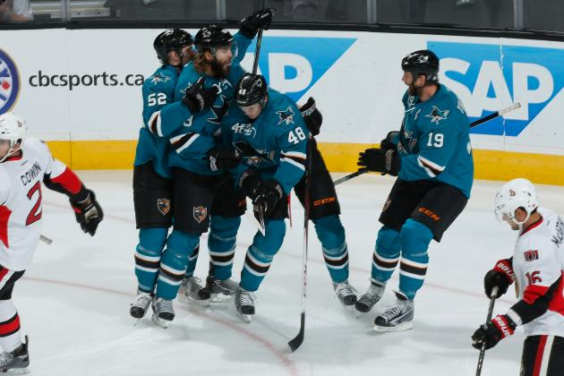 NHL: How San Jose Sharks' Hodgepodge Top Line Is Dominating the League