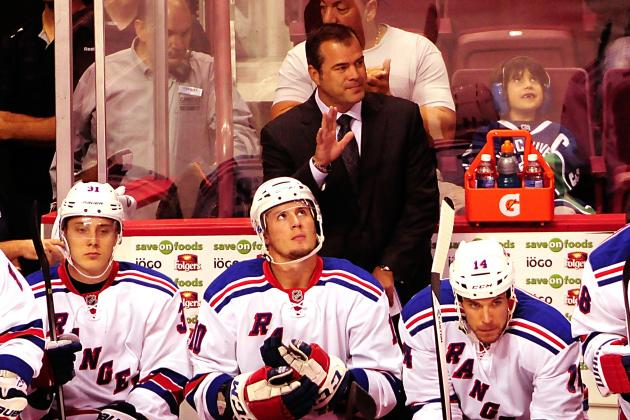 What Is Behind the New York Rangers' Bad Start?