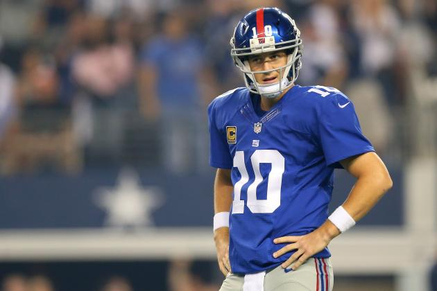 New York Giants Are Getting Exactly What They Signed Up for in QB Eli Manning