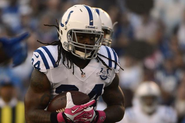 Trent Richardson's Instant Fantasy Reaction After Week 6