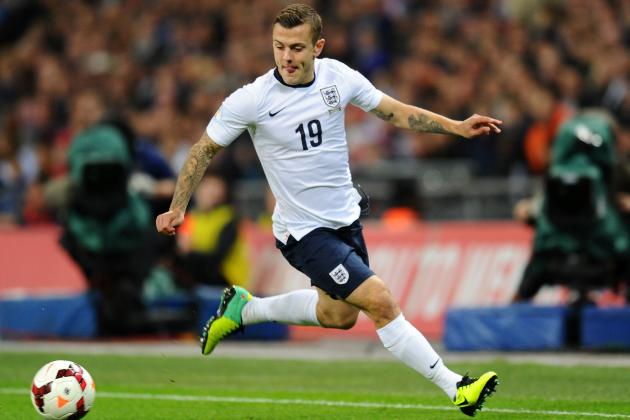 Jack Wilshere Reportedly Set to Replace Frank Lampard for England vs. Poland