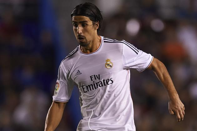 Sami Khedira Complains at Real Madrid Treatment, Alerts Chelsea and Man United