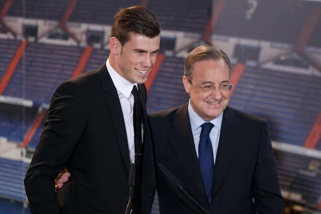 Florentino Perez Says Gareth Bale May Not Have Broken Cristiano Ronaldo's Record