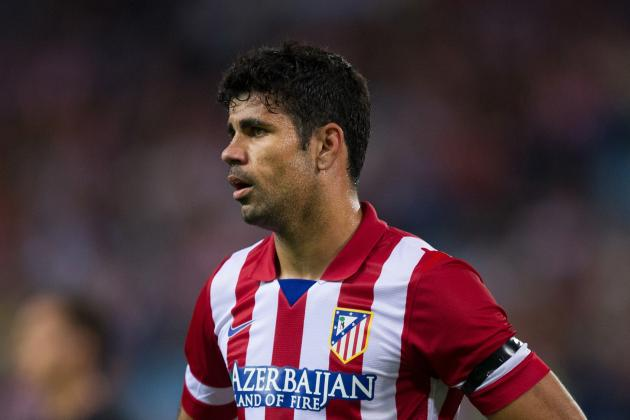 Brazil Won't Rule out Calling Up Diego Costa