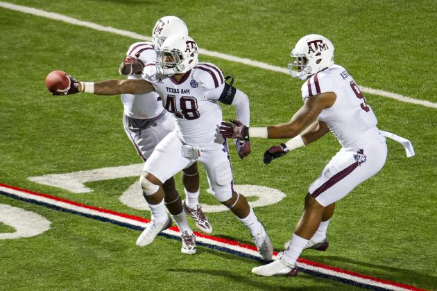 Texas A&M Football: Auburn's Spread Gives Beleaguered Defense a Break