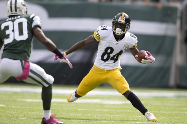 Lost in Steelers' 1-4 Start Is Antonio Brown's Impressive Season