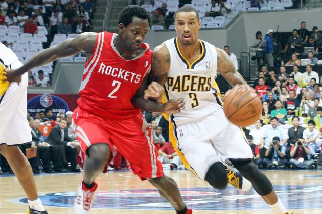 George Hill Suffers Ankle Injury in 107-98 Preseason Loss to Rockets