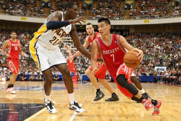 Jeremy Lin Is the Star in Taiwan Against Indiana Pacers