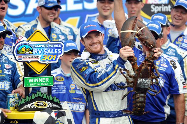 Brian Vickers Speaks out After Announcement Driver Will Miss Remainder of Season
