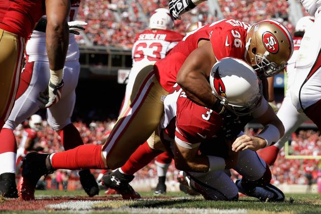 49ers Getting Pressure Without Smith