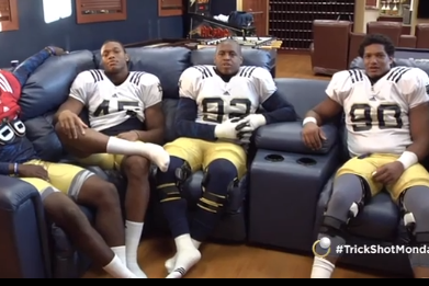 Here Is ND's Newest 'Trick Shot Monday' Video