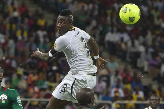 Asamoah Gyan Puts Ghana Ahead Against Egypt in World Cup Qualifying Playoff